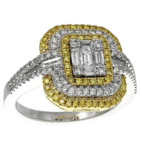 6F047201AULRYD 18KT Yellow Diamond Ring