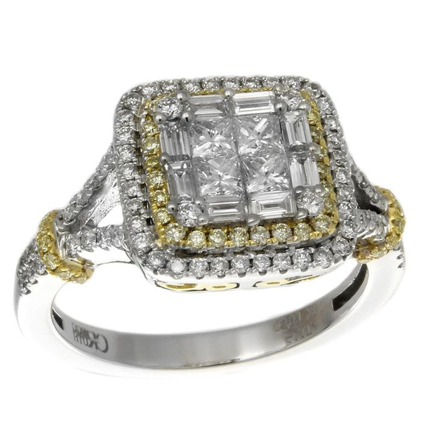 6F050097AULRYD 18KT Yellow Diamond Ring