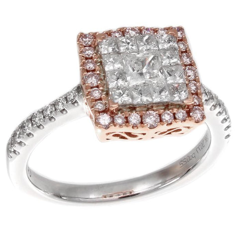 6F050563AQLRPD 18KT Pink Diamond Ring