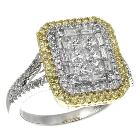 6F050626AULRYD 18KT Yellow Diamond Ring