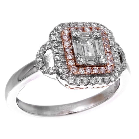 6F052881AQLRPD 18KT Pink Diamond Ring