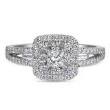 6F052920AWLRD0 18KT White Diamond Ring