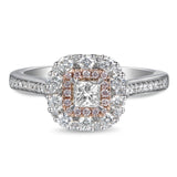 6F052921AQLRPD 18KT Pink Diamond Ring