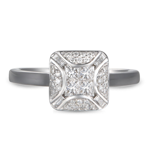 6F052942AWLRD0 18KT White Diamond Ring