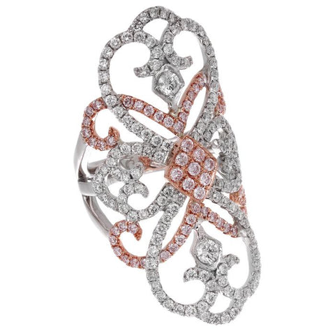 6F054863AQLRPD 18KT Pink Diamond Ring