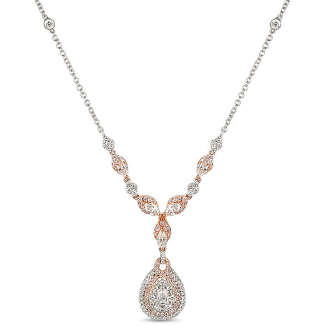 6F055218AQCHPD 18KT Pink Diamond Necklace