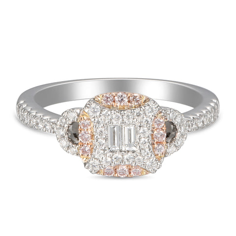 6F056017AQLRPD 18KT Pink Diamond Ring