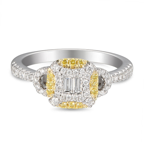 6F056017AULRYD 18KT Yellow Diamond Ring