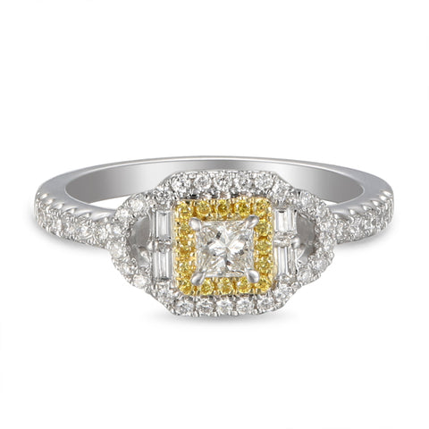 6F056020AULRYD 18KT Yellow Diamond Ring