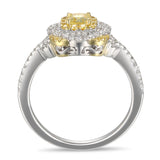 6F056021AULRYD 18KT Yellow Diamond Ring