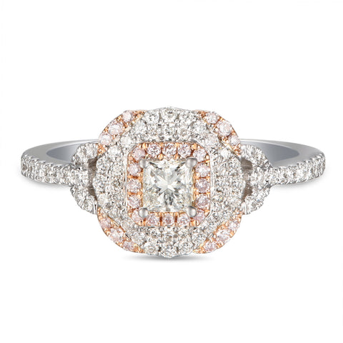 6F056024AQLRPD 18KT Pink Diamond Ring
