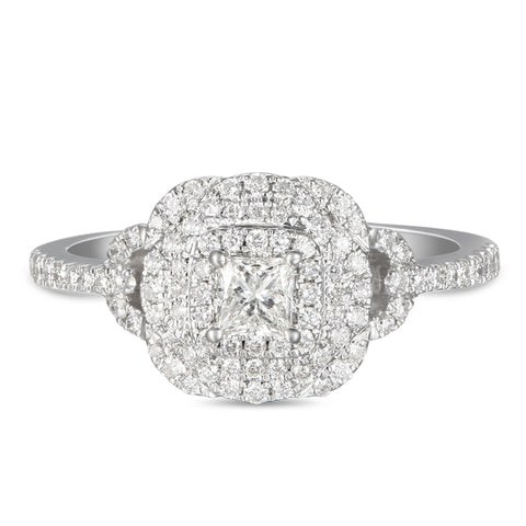 6F056024AWLRD0 18KT White Diamond Ring