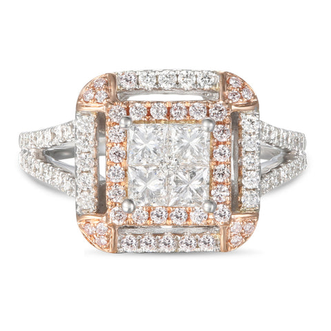 6F056977AQLRPD 18KT Pink Diamond Ring
