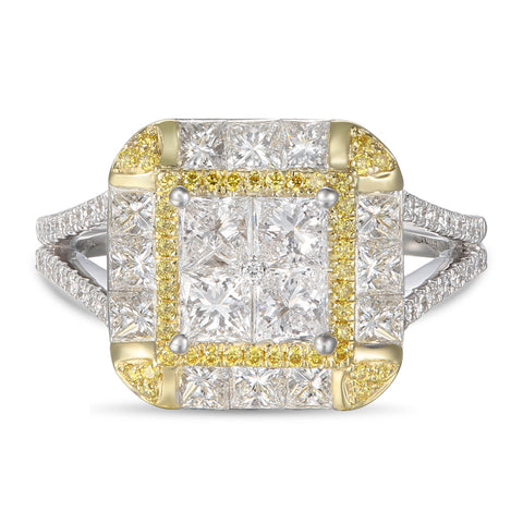 6F056978AULRYD 18KT Yellow Diamond Ring