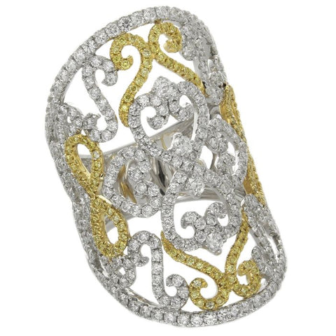 6F057112AULRYD 18KT Yellow Diamond Ring