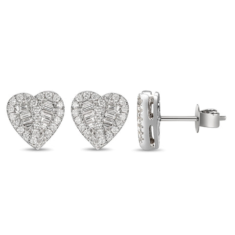 6F058954AWERD0 18KT White Diamond Earring