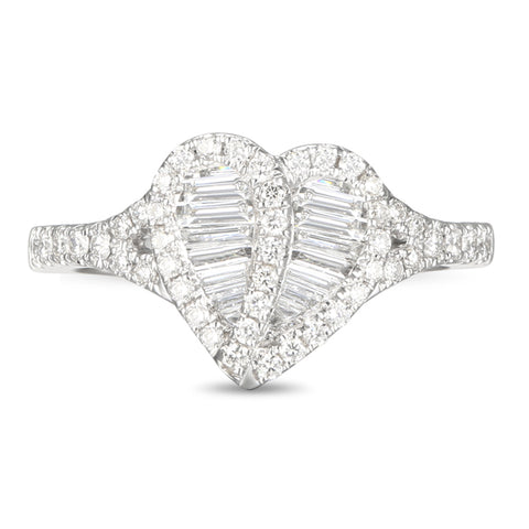 6F058955AWLRD0 18KT White Diamond Ring