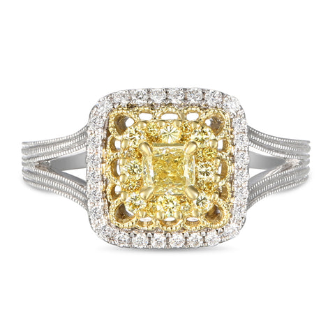 6F059356AULRYD 18KT Yellow Diamond Ring