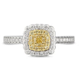 6F060607AULRYD 18KT Yellow Diamond Ring