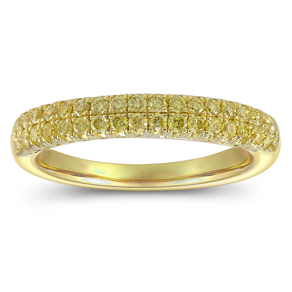 6F060914AULRYD 18KT Yellow Diamond Ring