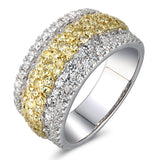 6F062722AULRYD 18KT Yellow Diamond Ring