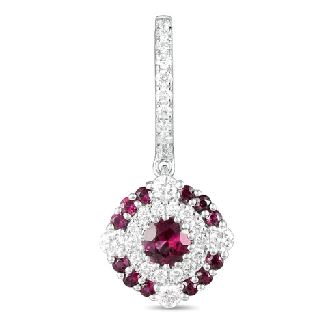 6F065355AWERDR 18KT Ruby Earring