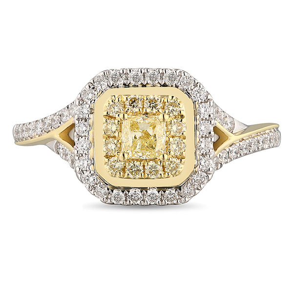 6F066812AULRYD 18KT Yellow Diamond Ring