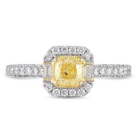 6F066820AULRYD 18KT Yellow Diamond Ring