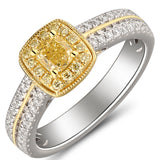 6F067113AULRBYD 18KT Yellow Diamond Ring