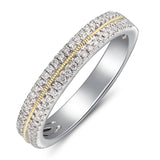 6F067120AULRD0 18KT White Diamond Ring