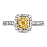 6F067292AULRBYD 18KT Yellow Diamond Ring