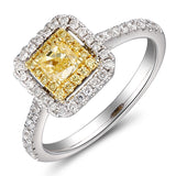 6F067299AULRYD 18KT Yellow Diamond Ring
