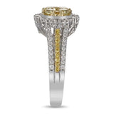6F601691AULRYD 18KT Yellow Diamond Ring