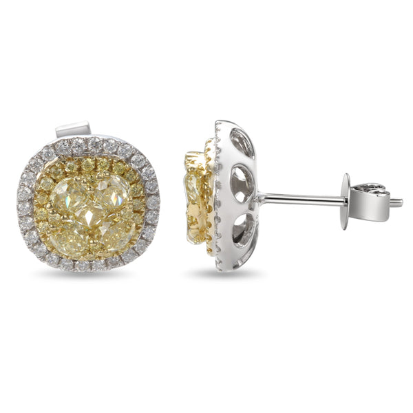 6F601833AUERYD 18KT Yellow Diamond Earring