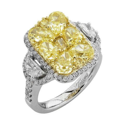 6F601851AULRYD 18KT Yellow Diamond Ring