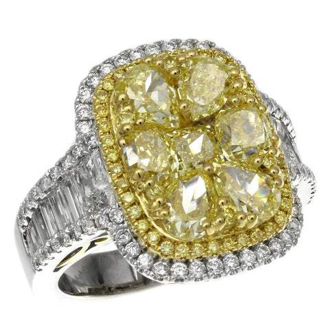 6F601854AULRYD 18KT Yellow Diamond Ring