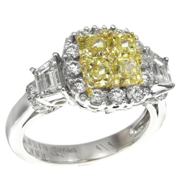 6F601863AULRYD 18KT Yellow Diamond Ring