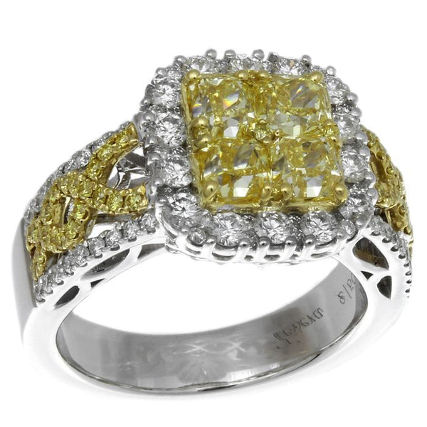 6F601865AULRYD 18KT Yellow Diamond Ring
