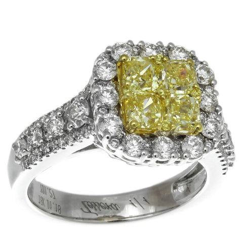 6F601869AULRYD 18KT Yellow Diamond Ring