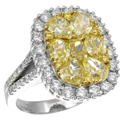 6F601870AULRYD 18KT Yellow Diamond Ring