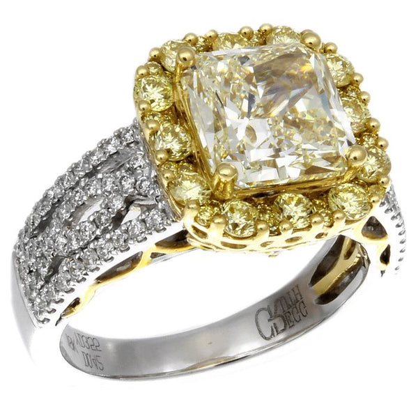 6F602360AULRYD 18KT Yellow Diamond Ring