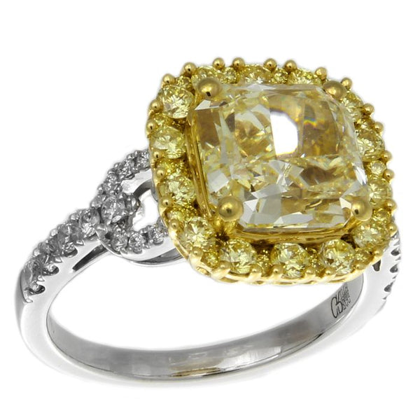 6F602361AULRYD 18KT Yellow Diamond Ring