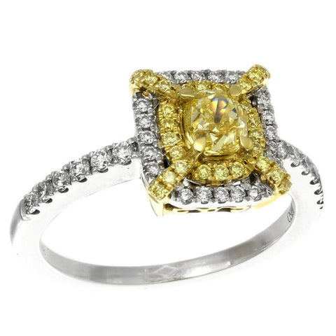 6F602503AULRYD 18KT Yellow Diamond Ring