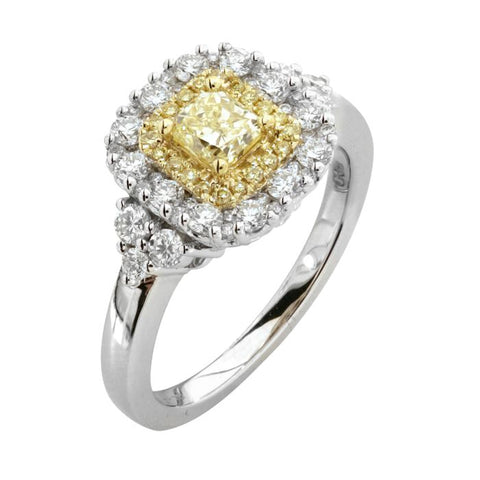 6F602506AULRYD 18KT Yellow Diamond Ring