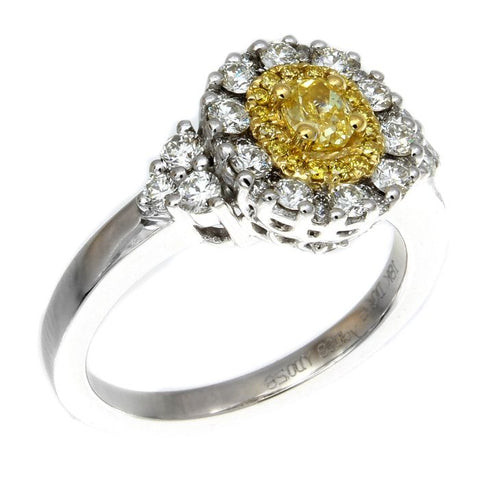 6F602507AULRYD 18KT Yellow Diamond Ring