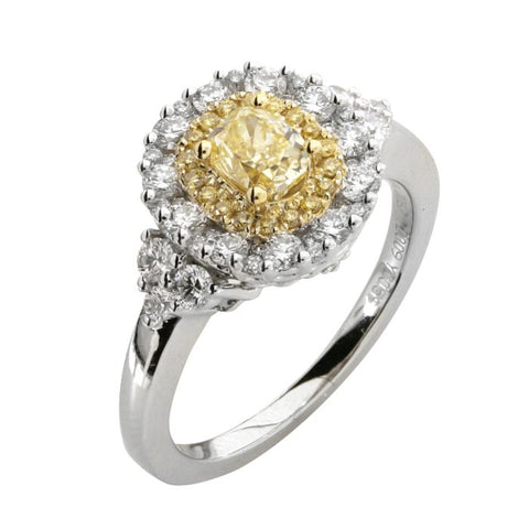 6F602508AULRYD 18KT Yellow Diamond Ring