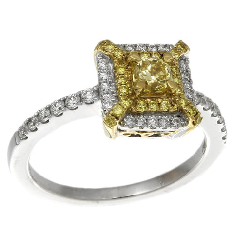 6F602509AULRYD 18KT Yellow Diamond Ring