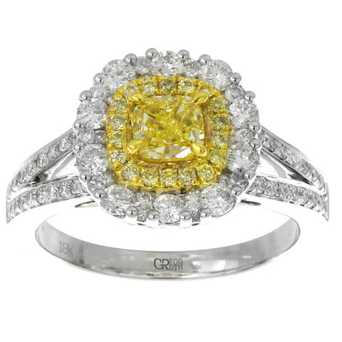 6F602510AULRYD 18KT Yellow Diamond Ring