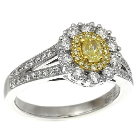 6F602511AULRYD 18KT Yellow Diamond Ring