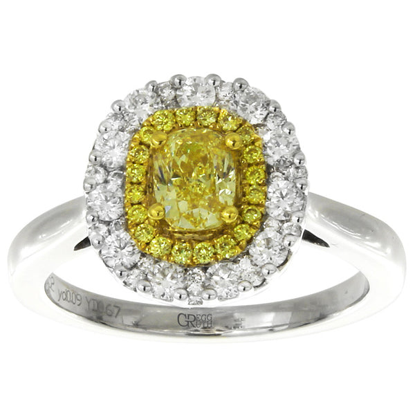 6F602512AULRYD 18KT Yellow Diamond Ring